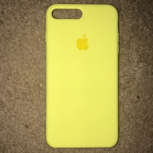 yellow apple iphone 8 plus case